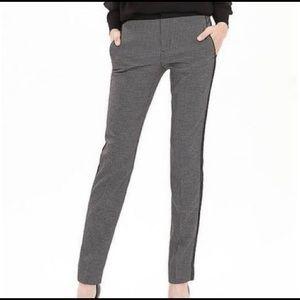 EUC Banana Republic Black Jacquard slim pants, 6